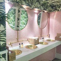 Bathroom remodel, bathroom design, bathroom decor, home decor, interior design. Salon Interior Design, Bath Decor, Bathroom Interior, Shiplap Bathroom, Bathroom Mirrors, Bathroom Cabinets, Restroom Cabinets, Bathroom Tubs, Rental Bathroom