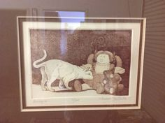 80s Cabbage Patch Etching Wall Art Limited by RetroResaleSanDiego