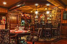 Unique Irish Pub Basement Ideas