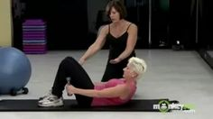 pilates for elderly - YouTube