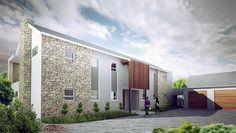 HOUSE MOOSA   Urban Habitat Architects Rustic Houses, Habitats, Architects, Garage Doors, Urban, Outdoor Decor, Modern, Ideas, Home Decor