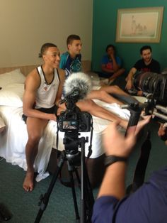 A look behind the scenes of our work with US Sports website covering Australian young-gun for a week in Dante Exum, Sports Website, Young Guns, Melbourne, Behind The Scenes, Basketball, Netball