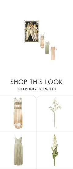 """""""sisters"""" by katticusmac ❤ liked on Polyvore featuring Comme des Garçons, Crate and Barrel, Maria Lucia Hohan, OKA, Alexander McQueen, women's clothing, women, female, woman and misses"""