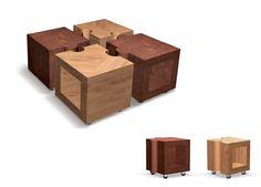 Design de produto | mesa Puzzle - Produto Selecionado para o X Salão Design