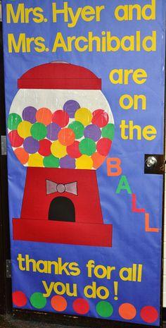 Teacher Door Decorations Sports New Ideas Nurses Week Gifts, Teacher Gifts, Teacher Stuff, School Fun, School Teacher, School Ideas, School Staff, School Daze, Teacher Door Decorations