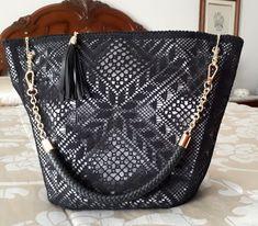 Louis Vuitton Monogram, Louis Vuitton Damier, Bobbin Lace Patterns, Tatting, Shoulder Bag, Crochet, Bags, Magnolia, Loom
