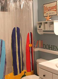 Find This Pin And More On Surfer Themed Bathroom