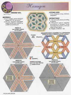 Delicate Doilies/Hexagon 14/14