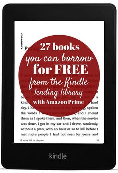 "27 books you can borrow for FREE from the Kindle lending library (with Amazon Prime). (Because curling up with a good book definitely says ""home."")"