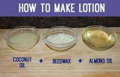 How To Make DIY Lotion Recipes & Ideas   Easy DIY Homemade Lotion Non Comedogenic All Natural Ingredients By DIY Ready. http://diyready.com/how-to-make-lotion-homemade-lotion-instructions/