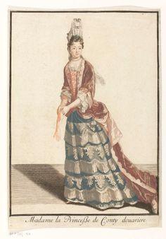 Madame la Princesse de Conty douarière, anoniem, ca. 1670.