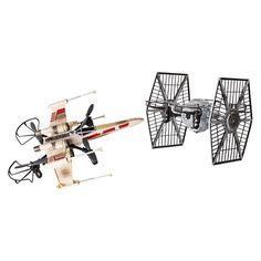 Air Hogs Star Wars X-wing vs. TIE Fighter Drone Battle Set : Target