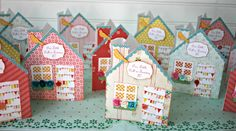Vintage Doll House Party Invites using Samantha Walker with Cameo