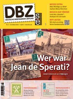 Titelbild Deutsche Briefmarken-Zeitung 5/2015: Jean de Sperati