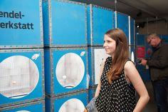 Eine Mitmachausstellung für Kinder über die Geschichte der Zeitmessung: klassische Exportverpackungen einmal anders. Ein Kundenprojekt. © Museum August Kestner
