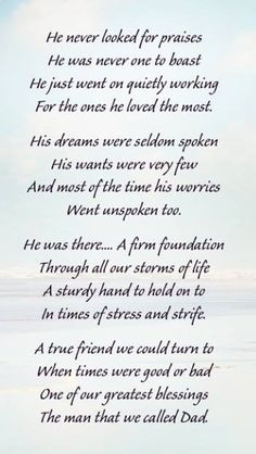 Missing Dad In Heaven, Dad In Heaven Quotes, Miss You Dad Quotes, Dad Quotes From Daughter, Missing My Dad Quotes, Mom In Heaven Poem, Family Memories Quotes, Quotes About Heaven, Remembering Dad Quotes