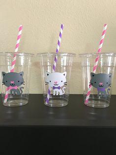 tazas de parte de gato gatito partido tazas
