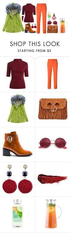"""Без названия #2535"" by dark-nice-snow ❤ liked on Polyvore featuring Boutique Moschino, J.W. Anderson, Jeffrey Campbell, Ray-Ban, By Terry and Dale Tiffany"