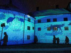 Luminous Finland 100 -valotaidekokonaisuus on huipentunut Turun linnaan.