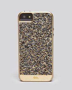 Gold iPhone case