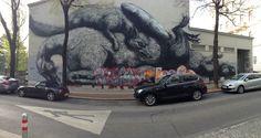 Fuchs und Hase Graffiti, Vehicles, Fox, Bunny, Car, Graffiti Artwork, Vehicle, Street Art Graffiti, Tools