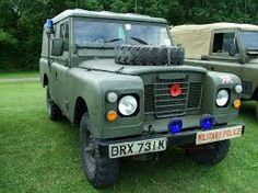 Image result for land rover military police