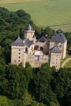 ✅ Château de Malbrouck - Manderen (57)