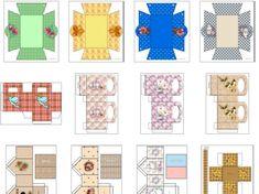 cajas para guardar bombones de navidad - Buscar con Google