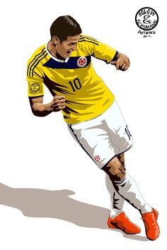 James Rodriguez Colombia madrid cup world 2014 Football Love, Football Art, World Football, Good Soccer Players, Soccer Fans, Football Players, James Rodrigues, Fifa, James Rodriguez Colombia