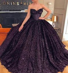 #Repost @dressesvogue  ・・・  Yay or Nay? Tag your besties and comments! #amazingdress #beautiful #ballgown #blackdress #dress #eveninggown #fashion #gorgeous #gown #instastyle #instadress #pretty #prom #princess #style #bestdressesofig
