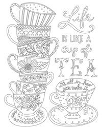 FREE Printable Hot Chocolate Winter Coloring Page for Kids ...