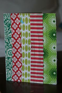 Tutorial: Quilted Christmas Cards