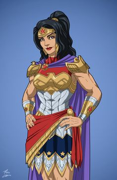Queen Hippolyta (Earth-27) commission by phil-cho on DeviantArt