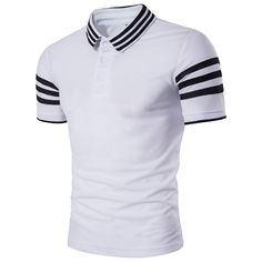 Cheap Tees & Polo Shirts for Men in Short or Long Sleeves Best Shorts For Men, Cool Outfits For Men, Best Polo Shirts, T Shirts Uk, Tee Shirts, Mens T Shirts Online, Men Online, Nigerian Men Fashion, Mens Designer Shirts