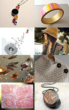 Freedom by Natalie Thibault #etsy #treasury #shopping #giftguide #colorful #jewelry #giftforher #accessories #art #fashion --Pinned with TreasuryPin.com