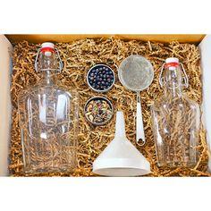 HOMEMADE GIN KIT | make moonshine, alcohol, your own liquor | UncommonGoods