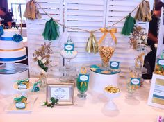 Emerald Green Gold Candy Buffet Lolly For Kooindah Waters 2017 Wedding Bridal Expo