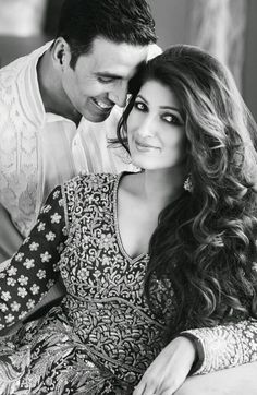 "Akshay Kumar and Twinkle Khanna - One of the most ""in love"" couples of Bollywood."