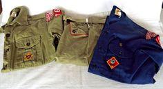 Boy Scout Uniforms Hawkeye Council Cedar Rapids Patches Pins Shirts Pants Belt