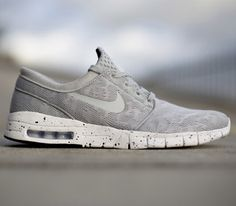 Nike SB Janoski Max. The innovative skate shoe  now with an air max sole.