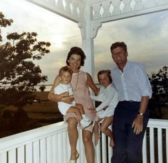Jackie Kennedy wearing a Lilly Pulitzer shift in gingham check