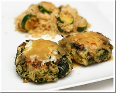 Italian Chicken and Spinach Patties