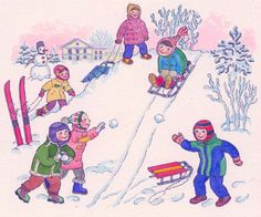 Winter Art, Winter Snow, Winter Holidays, Art For Kids, Art Projects, Children, Creative, France, Artwork