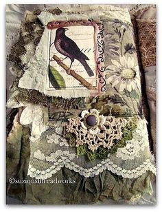 Fabric Art Journals | Visit suziqusthreadworks.blogspot.com