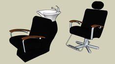Cadeira e Lavatório - 3D Warehouse