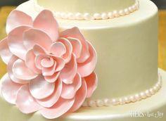 Macro Fondant Flower by Beverly's Bakery