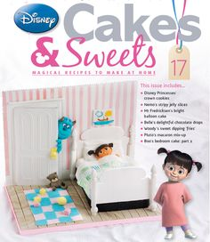 Sulley and little boo are reunited in this Monsters Inc. cake in issue 17 #disneycakes