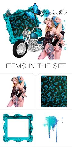 """""""..."""" by gwenaelle-gerard on Polyvore featuring art"""