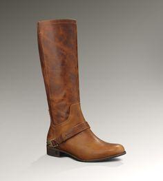 UGG® Channing II for Women | Crackled Leather Boots at UGGAustralia.com