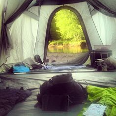 View from the tent - Photo from @gorh4m Instagram